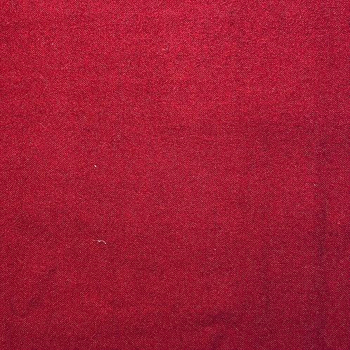 Flannel Darker Red