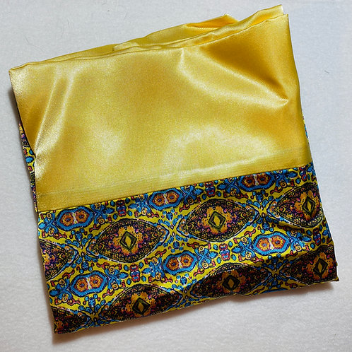 Yellow & Fancy Satin Pillowcase