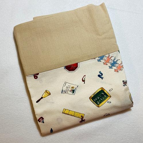 School Cotton Pillowcase