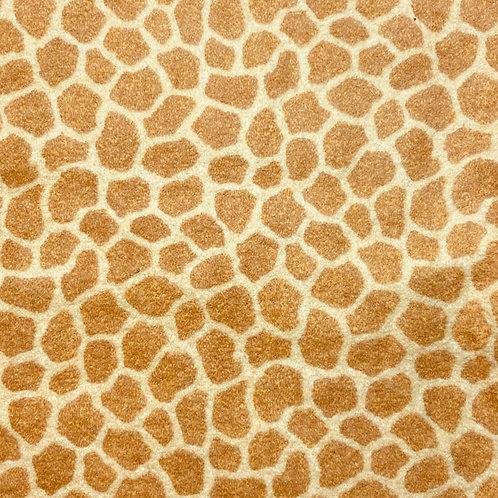 Flannel Giraffe Print