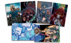 Tumultus postcards