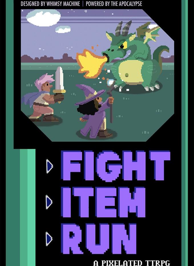 Fight Item Run: A Pixelated RPG