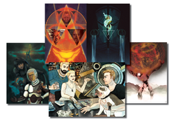 Five postcard Pack