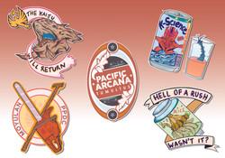 Tumultus Stickers