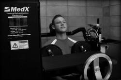 Cervical Extension MedX Machine