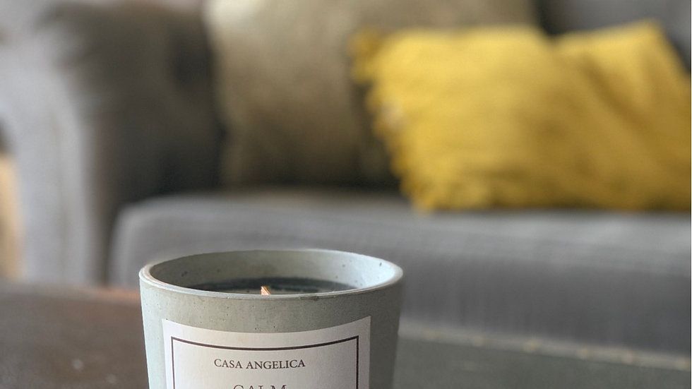 CALM - 100% Natural Botanical Soy Wax Candle