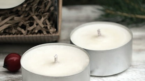 Fragranced soy tealights x 6 - all fragrances