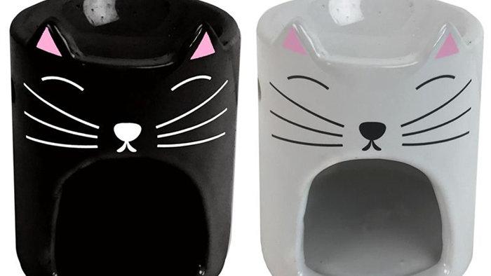 Cute cat wax burner