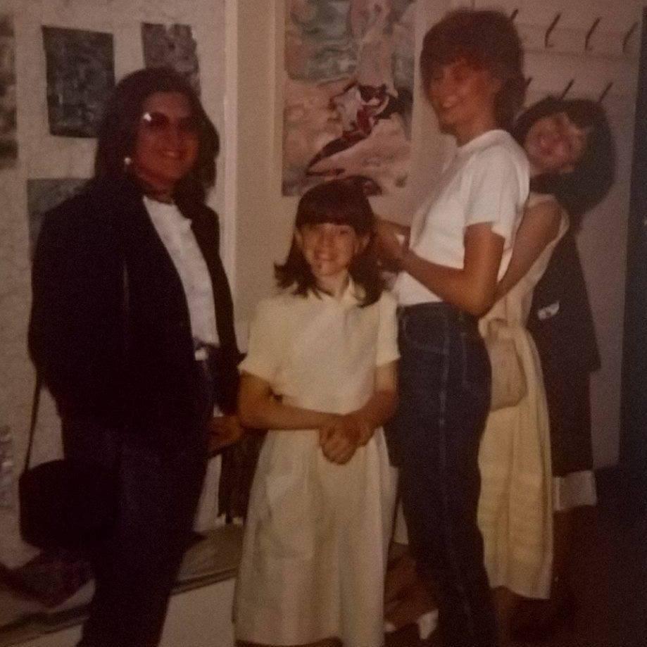 Retro 80's photo!