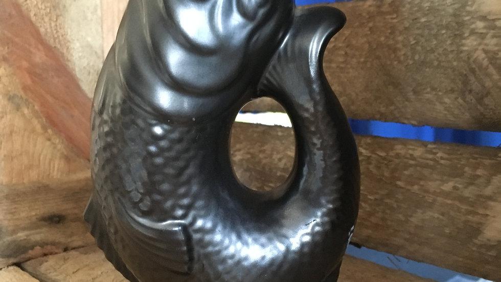 Vintage grey glug jug