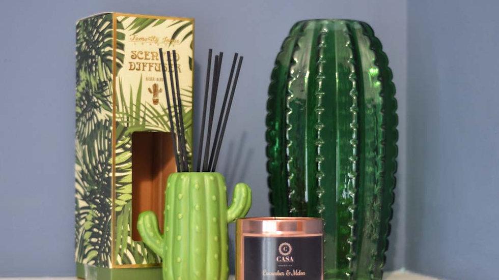 Ceramic Cactus Fragrance Diffuser