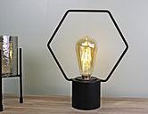 free standing hexangonal wire lamp.jpg