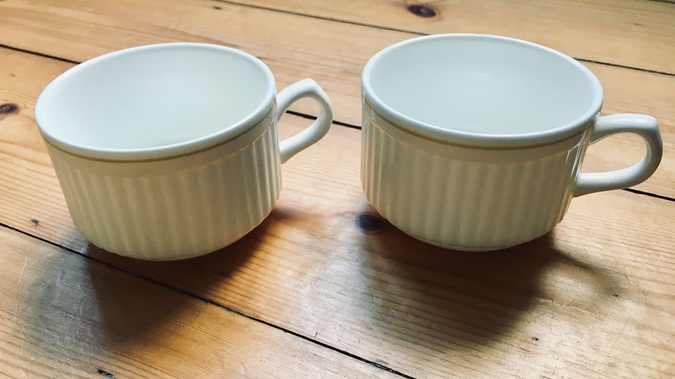 Set of two Insignia Wedgwood coffee cups