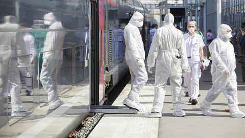 TGV médicalisé • SNCF