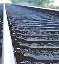 Railway Tracks closeup