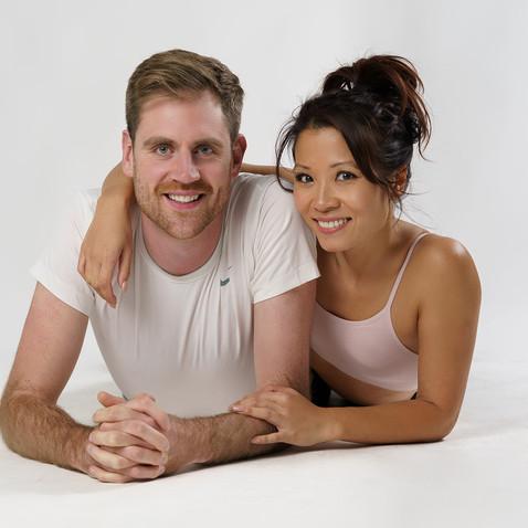 Kim and Dan Model Couple