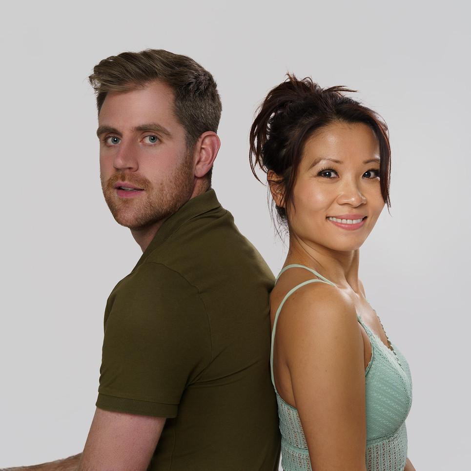 Kim and Dan UK Model Couple