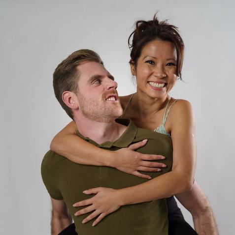 Kim and Dan Model Actors