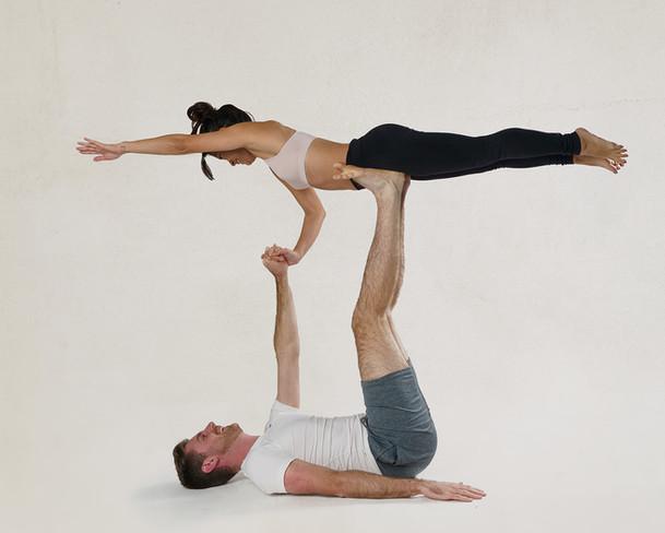 London Couple Bubble Fitness  Model