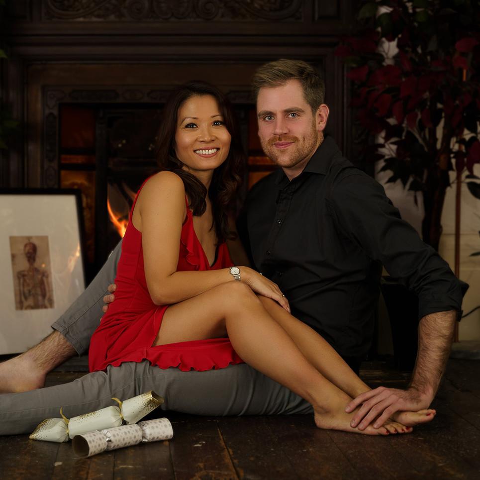 Kim and Dan Happy Model Couple