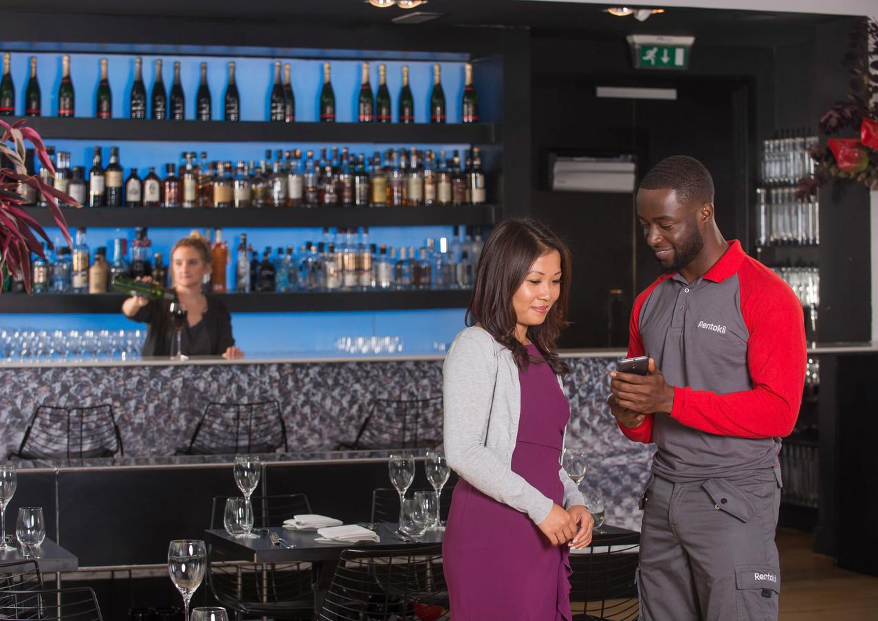 Rentokil_Bar Restaurant_Technician_Photo