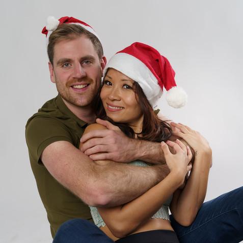 Kim and Dan Model Valentines Couple