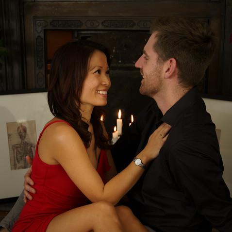 Kim and Dan Brunette Model Couple