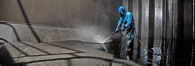 Limpeza de derramamentos