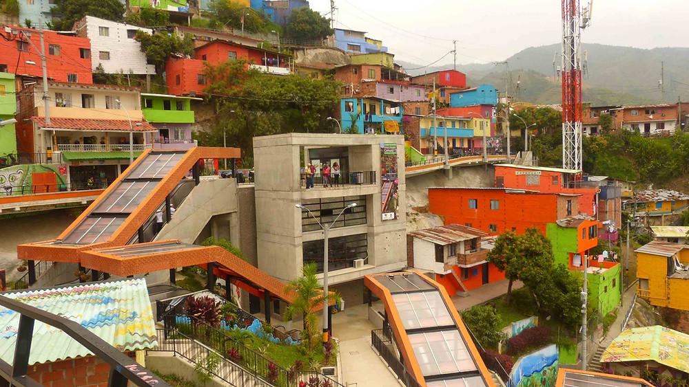 Visão geral da intervenção - Comunidade San Javier
