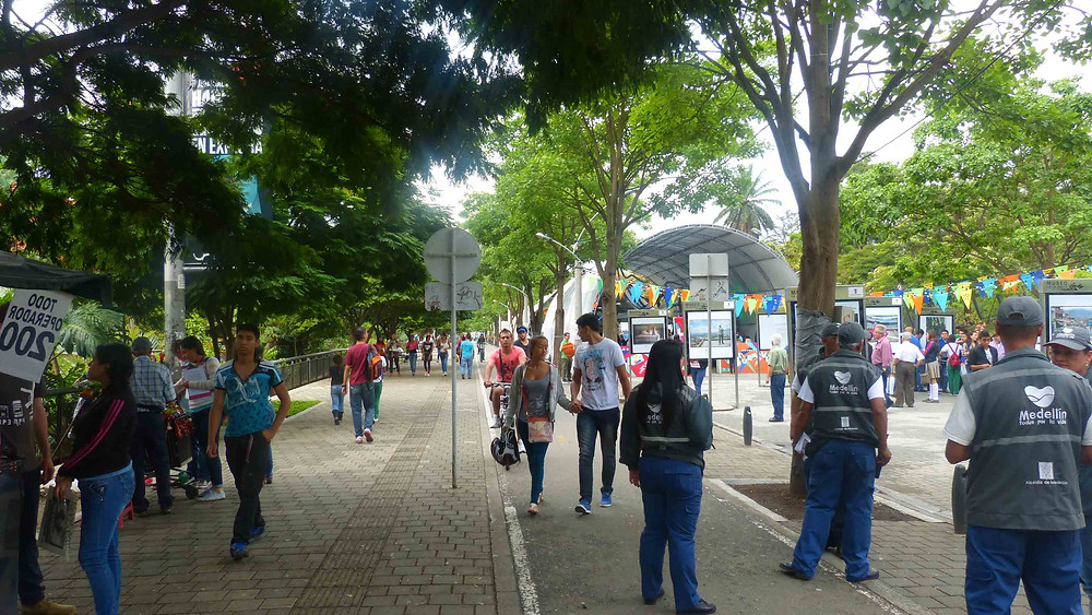 Entorno do Jardim Botânico de Medellín