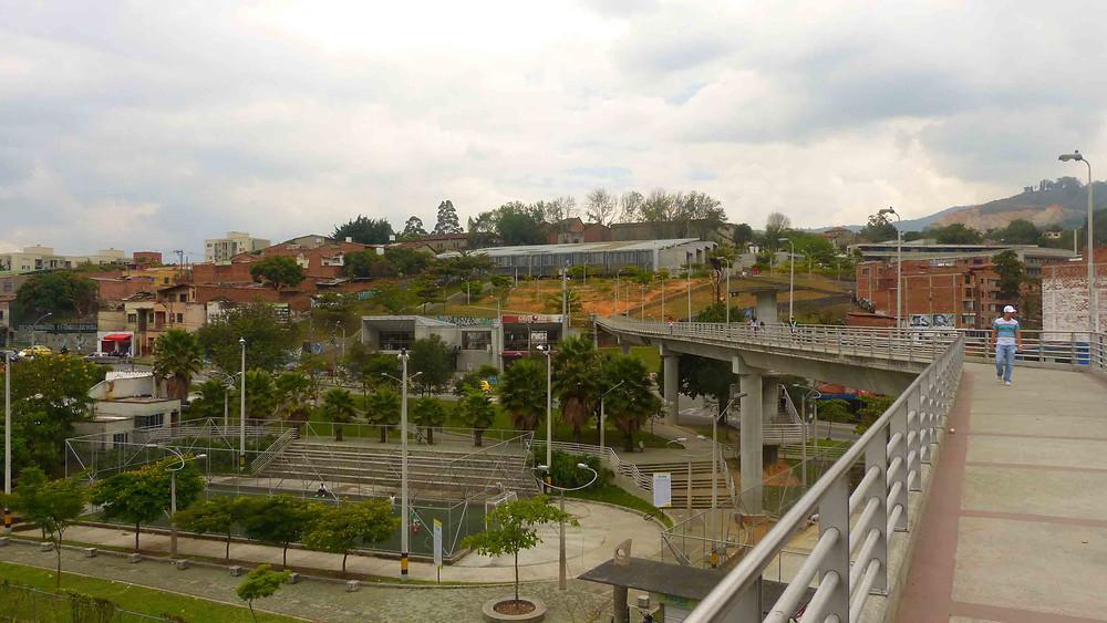 Parque-Biblioteca San Javier e seu entorno - Comunida