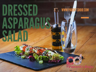 Dressed Asparagus Salad