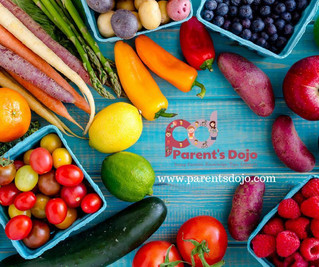 Fruits And Vegetables Should be Part Of Your Child's Diet