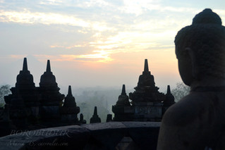 Prabanam and Borobudur