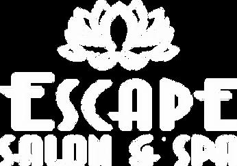 Escape Salon & Spa white logo.png