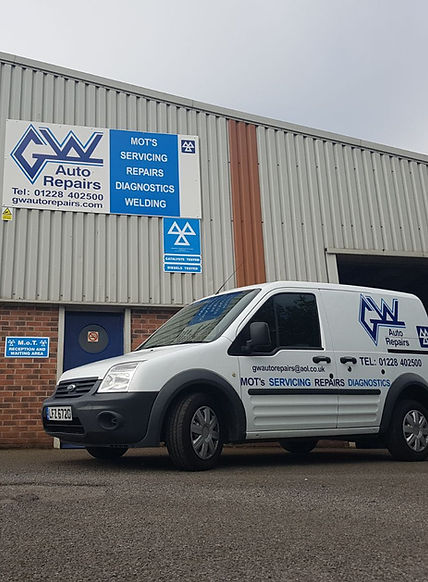 GW Auto Repairs Car & Van MOT and Servicing in Carlisle