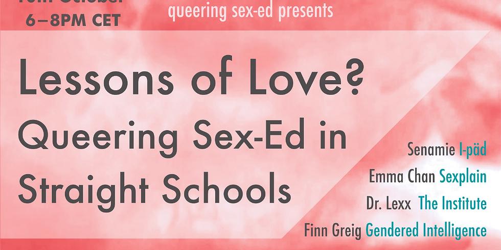 Queering Sex Ed in Straight Schools