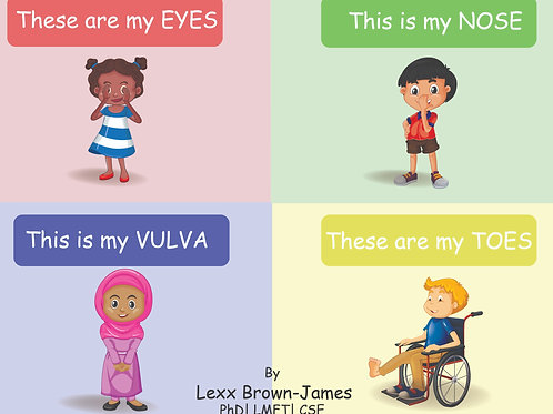 Children's Book: These are my Eyes