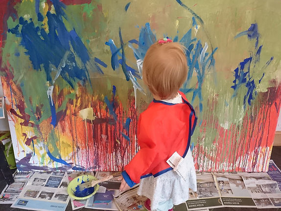 Creative Days - Canvas painting