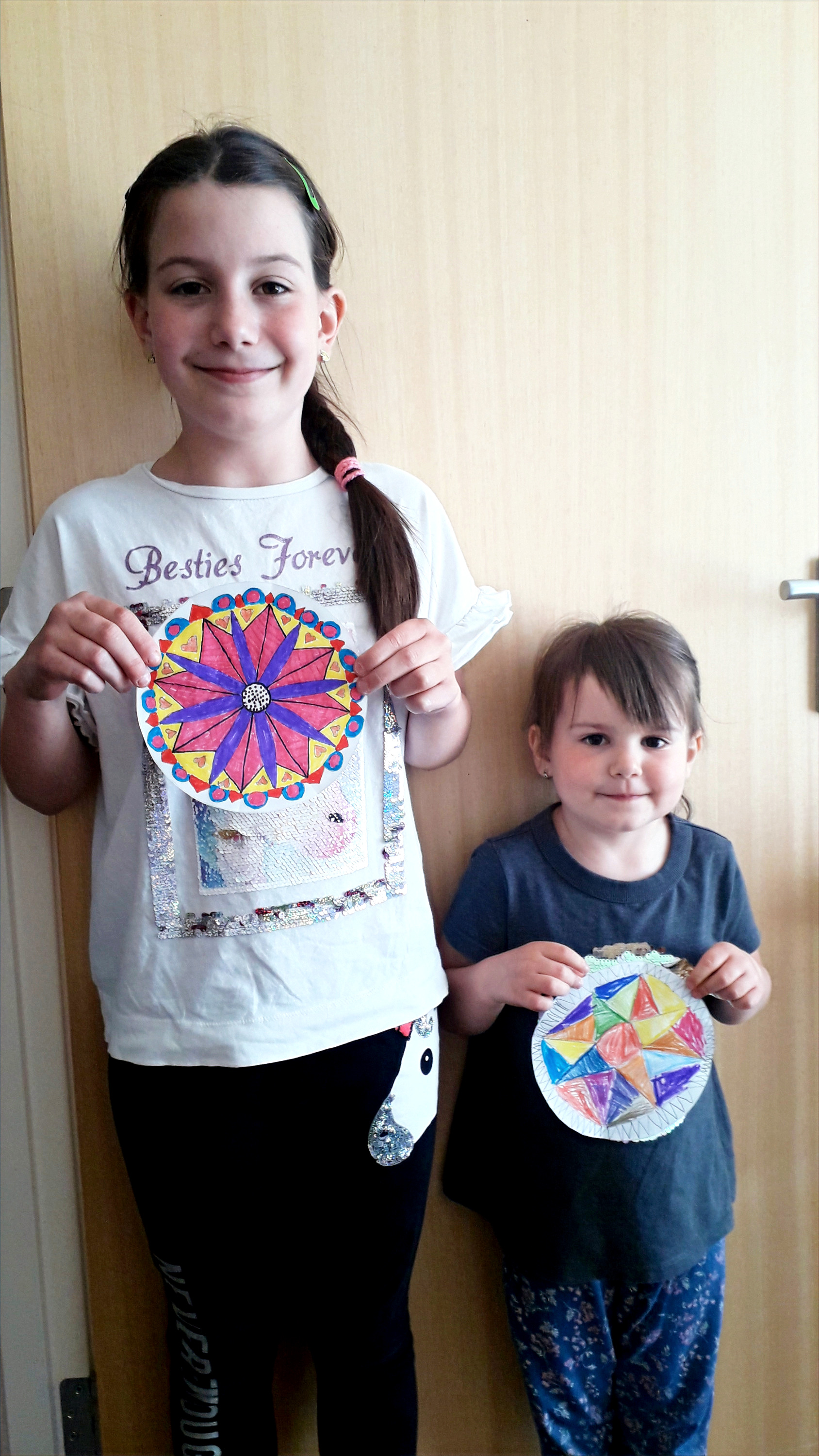 Natalie and Sophias Mandalas