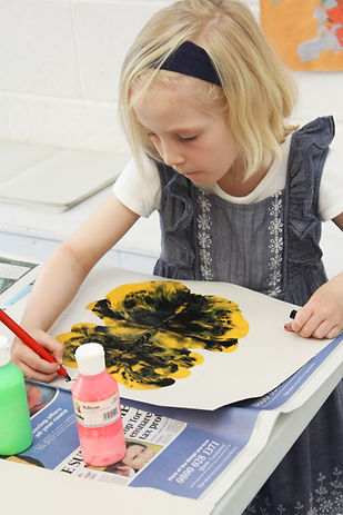 Creative Days - Butterfly painting