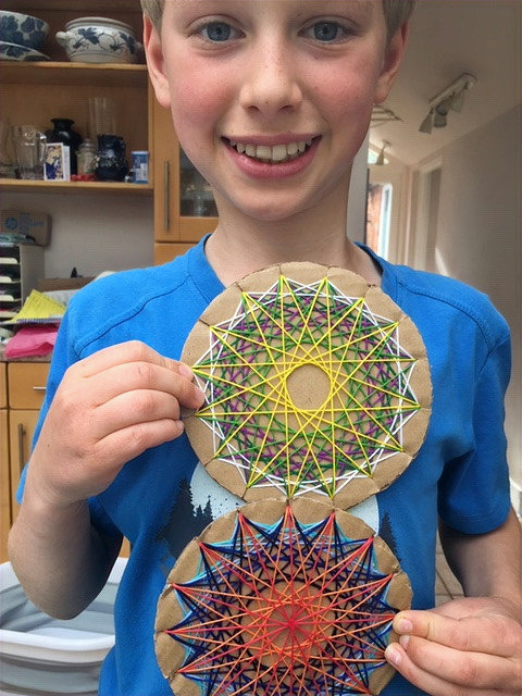 Wool Mandalas by Wilf