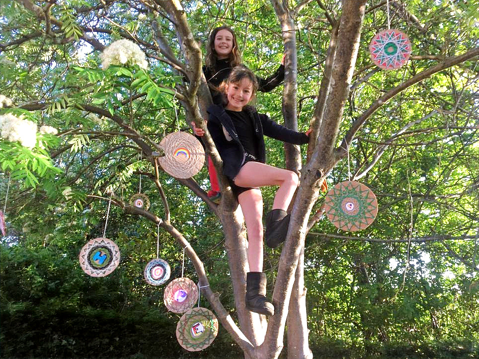 Isla and Elodie's 'Tree of Hope '