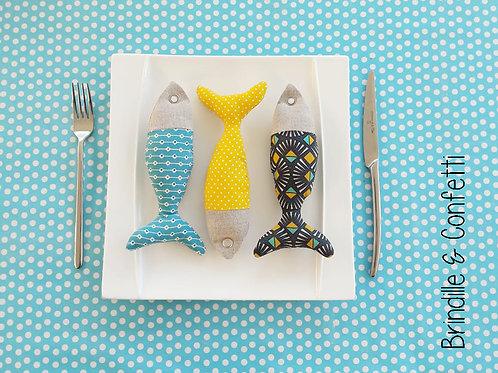Petits poissons (vendus par 3)
