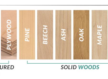 ما هى أنواع الأخشاب ، و ما هو أستخدام كل منها ؟
