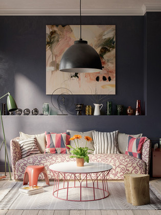 pink-and-black-abstract-small-gray-room-