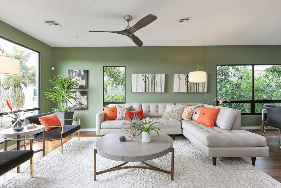 Modern-L-Shaped-Sectional-Couch-in-Green