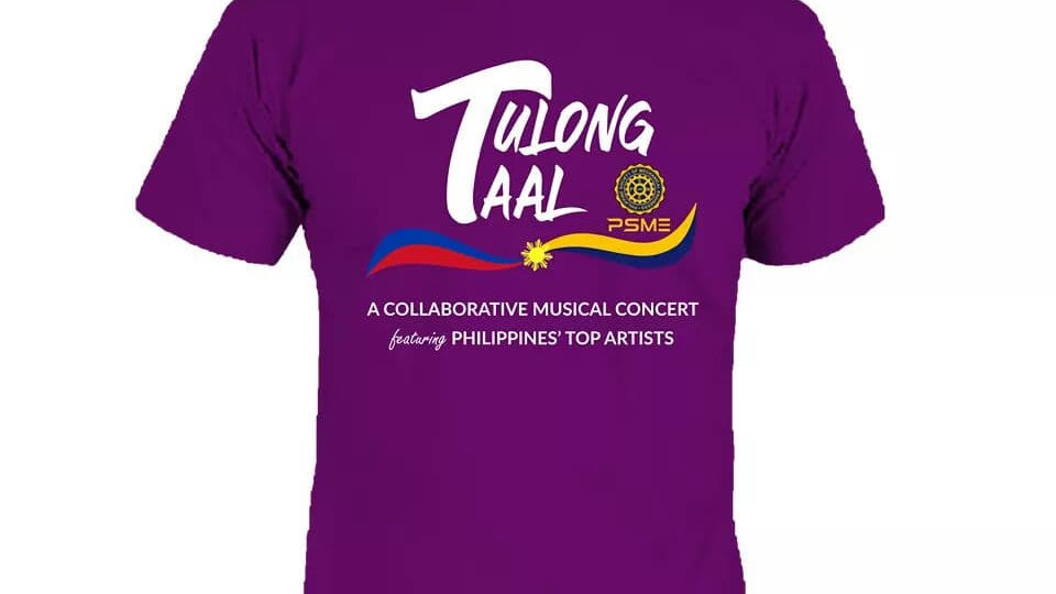 T-shirt, tulong taal