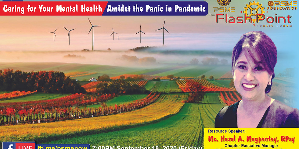 FlashPoint: Caring for your mental health amidst the panic in pandemic.