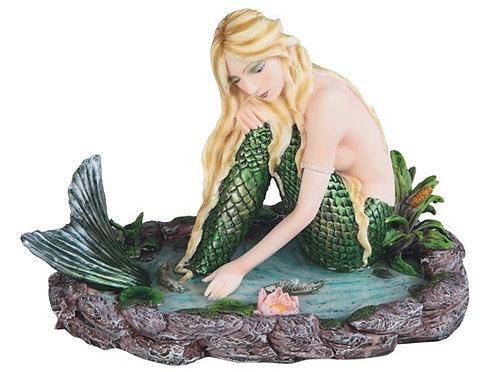 Mermaid in Pond